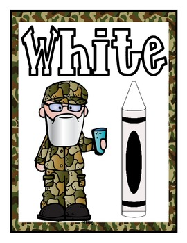 Duck Dynasty Inspired Color Posters