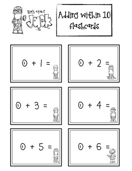 Duck Dynasty Kindergarten Math Facts & Write the Room