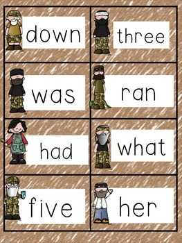 Duck Dynasty Sight Word Game:  Happy, Happy, Happy!