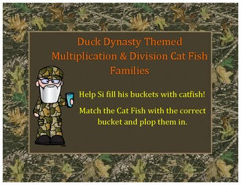 Duck Dynasty Themed Fact Families