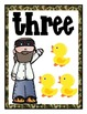 Duck Dynasty Themed Number Mini Posters and Booklet