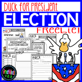 Duck For President - Presidential Elections 2016 FREEBIE