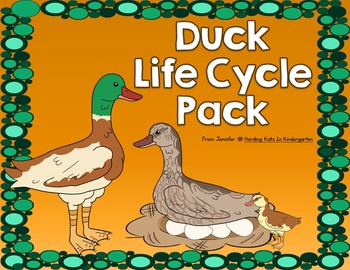 Duck Life Cycle Pack Including Observation Journal, Labeling Pages and More
