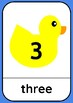 Duck Numbers 0 - 20 with Words Classroom Wall Posters