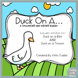Duck On A.... A Sequencing and Writing Bundle