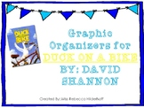 Duck On A Bike By David Shannon Graphic Organizers