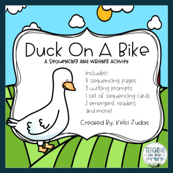 Duck On A Bike Sequencing Activity