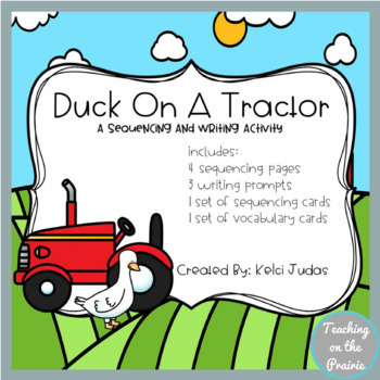 Duck On A Tractor Sequencing Activity