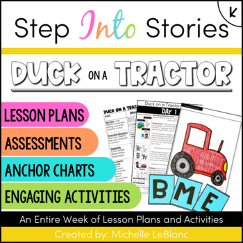 Duck On A Tractor Step Into Stories