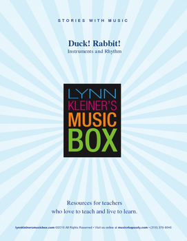 Duck! Rabbit! Book with music lesson