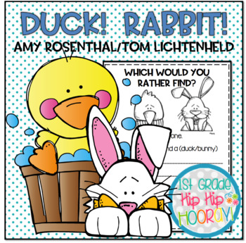 Duck! Rabbit! ...Literacy Activities