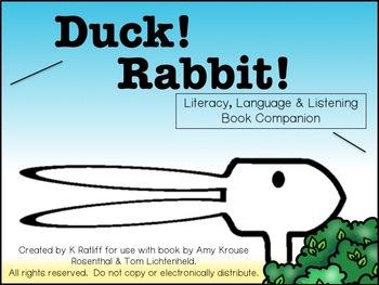 Duck! Rabbit! Literacy, Language and Listening Book Companion
