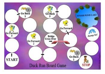 Duck Run Board Game