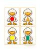 Duck Shape Sorting Activity - Farm Theme