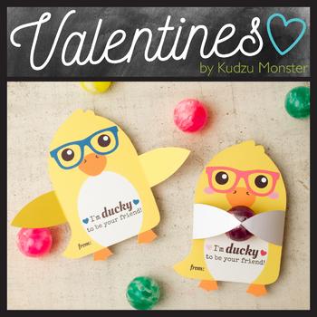 Duck Valentine Hugger