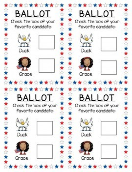 Duck and Grace for President - Mock Election