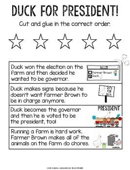 Duck for President Activities