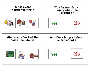 Duck for President Adapted Book