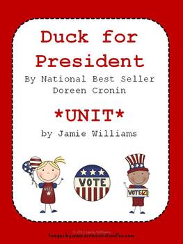 Duck for President BOOK UNIT