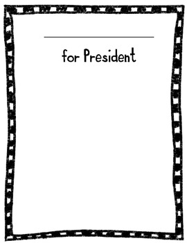Duck for President Book Activities