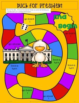Duck for President Book Companion