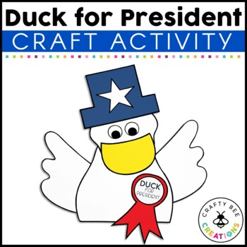 Duck for President Cut and Paste