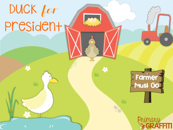 Duck for President {Election Book Companion}