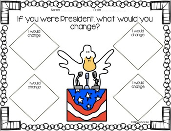Duck for President Literacy Unit