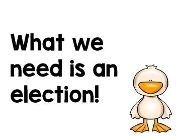 Duck for President Mentor Sentence