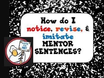 Duck for President Interactive Mentor Sentence Teaching Po