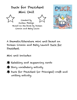 Duck for President Mini Unit