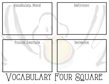 Duck for President Vocabulary Pack