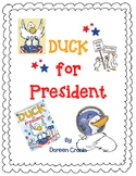 Duck for President by Doreen Cronin-A Complete Book Respon