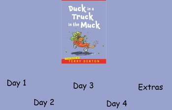 Duck in a Truck in the Muck Guided Reading Weekly Plan - F