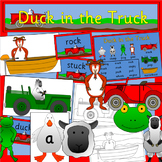 Duck in the Truck story activity pack