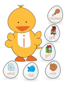 Duck long and short vowel sort