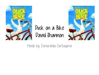 Duck on a Bike Activities