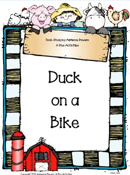 Duck on a Bike Book Companion