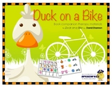 Duck on a Bike Book Companion Materials for Speech-Language Therapy