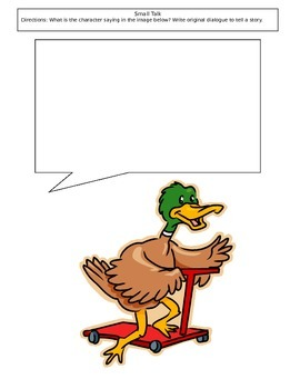 Duck on a Scooter - Creative Writing with Dialogue