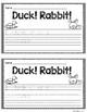 Duck or Rabbit FREEBIE