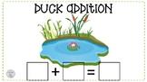 Duck pond addition