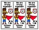 Duckens Nazon and the Grenadiers Bookmarks in English