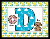 Duckies & Raindrops - Posters / Cards / Mats - Alphabet & Numbers