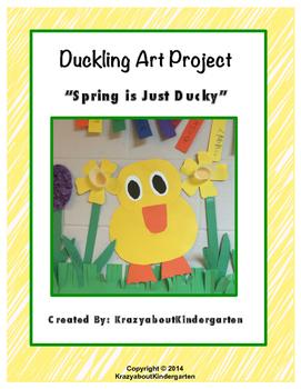 Duckling Art Project