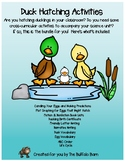 Hatching Ducklings- Duck Life Cycle, Candling, Writing, Graphing, More