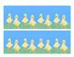 Ducklings Easter Borders