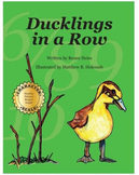 Ducklings in a Row - author-signed hardcover book
