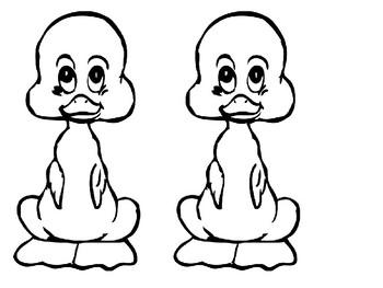 Ducks Coloring Pack