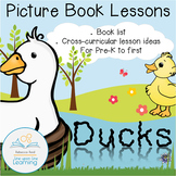 Ducks Cross-curricular Activities based on picture books